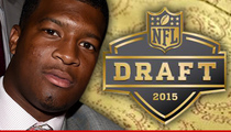 Jameis Winston -- Custom Draft Day Suit Revealed ... Check Out My #1 Swag