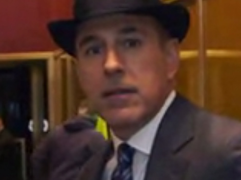 "Matt Lauer Talks Cross-Dressing For Halloween, Says Signature Drink Is ""Vodka With a…"