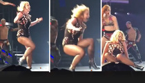 Britney Spears -- Suffers Busted Ankle ... Show Will NOT Go On!!!