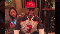 Jameis Winston -- Backtracks After Crab Leg Pic ... 1st NFL Blunder?!