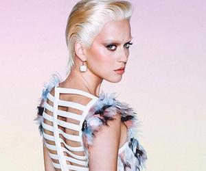 Katy Perry Rocks Super Short Blonde Wig For Wonderland Mag -- Like The Look?!