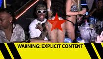 Dennis Rodman -- STRIPPER FIESTA ... At Thong'd Out BDay Party