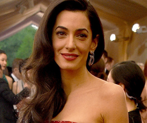 Amal Clooney Looks Ravishing in Red at Met Gala -- See Who Else Wore the Fiery…