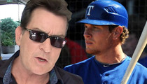 Charlie Sheen -- Josh Hamilton Doesn't Need AA ... Have a Drink, Hit Bombs
