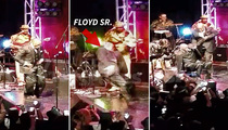 Floyd Mayweather's Dad -- FALLS HARD ... At Pre-Fight Dance Party (Video)