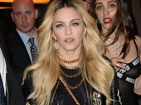 Madonna Parties with Daughter Lourdes After the Met Gala
