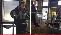 Chris Kattan -- Ambien Alert ... Escorted By Cops From Phoenix Airport