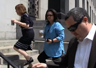 Rosie O'Donnell Shows Up in Court For Custody Battle (VIDEO)