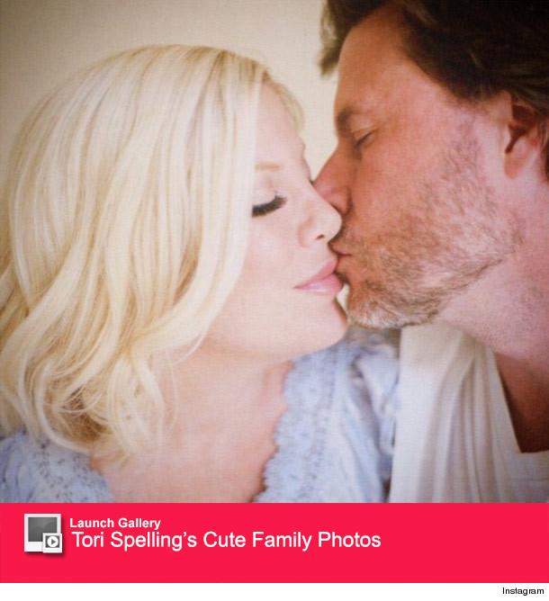 Tori Spelling Wedding: Tori Spelling And Dean McDermott Celebrate 9th Wedding