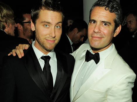 "Lance Bass Gives More Details on Andy Cohen Hook Up -- Says Andy Didn't ""Bang…"