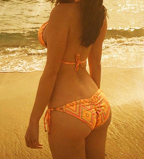Guess the bikini backside!