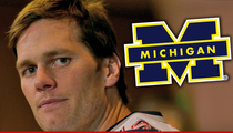 Tom Brady -- Never Messed with Balls In College