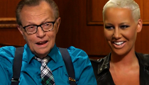 Amber Rose -- Listen Larry King ... My Ass Is About to Teach You a Lesson (TMZ TV)