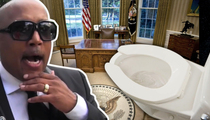 Daymond John -- Derriere Force One ... Search for the Elusive Oval Office Toilet (TMZ TV)
