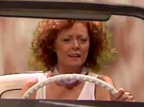 "James Corden & Susan Sarandon Spoof ""Thelma & Louise,"" Recreate Alternate Endings!"