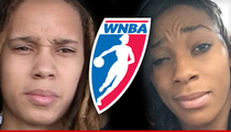 Brittney Griner & Glory Johnson -- Newlyweds Suspended for Domestic Violence