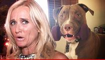 Kim Richards -- She's Gotta Pay Up for Pit Bull Attack