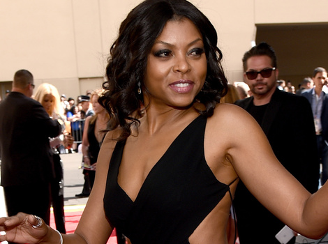 Taraji P. Henson Wears Miley Cyrus' Grammy Dress to Billboard Awards -- Who Wore It…