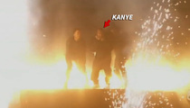 Kanye West -- Sound of Silence ... Censors Forced to Dump BMA Performance