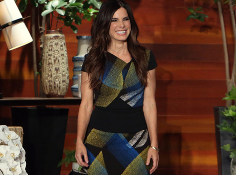"Sandra Bullock Says Son Louis Has a ""Tender Heart"" ... But He Makes Her Cry!"