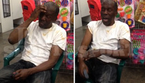 Floyd Mayweather's Uncle -- Vows to Beat Up Woman ... After He Gets Maced (Video)