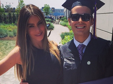 Sofia Vergara Celebrates Son Manolo's College Graduation With Joe Manganiello!