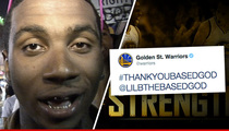 Golden State Warriors -- Please, Lil B ... Don't Curse Us!