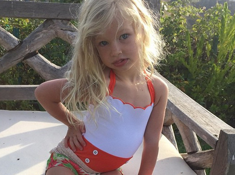 See Jessica Simpson's Daughter Maxwell Rock a Swimsuit Like Her Mom!