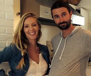 Brandon Jenner Rocks Fake Baby Bump to Support Wife Leah