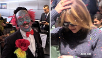 Jennifer Lopez -- Don't Clown Me in the Airport! Gets Confetti Bombed (VIDEO)