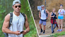 Zac Efron -- Jacked and Cursed! (TMZ TV)