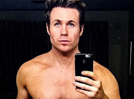 This Naked Pic of O-Town Stud Ashley Parker Angel Will Make You Blush
