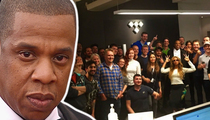 Jay Z -- White Is the New Black ... at Tidal (TMZ TV)