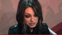 Mila Kunis -- Convicted Stalker Escapes Mental Facility