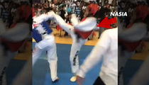Nunchuckin' Playboy Model -- Wins Taekwondo Tournament ... Boobs Of Fury