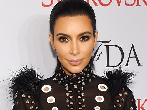 Pregnant Kim Kardashian Wears Sheer Dress to CFDA Awards, Reveals Rob's…