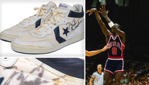 Michael Jordan -- Ball Boy Unearths MJ's Olympic Sneaks ... Wants Big $$$
