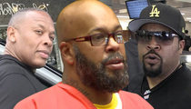 Suge Knight, Dr. Dre, Ice Cube -- Sued for Wrongful Death