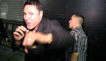 Oscar De La Hoya -- If I Come Back ... I WANT TRIPLE G!!!!