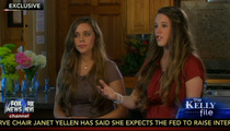 Jill & Jessa Duggar -- We Had Locked Bedrooms After Molestation ... Our Parents DID Protect Us (VIDEO)