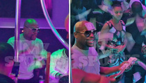 Floyd Mayweather -- Uses Quick Hands to Spray $35k All Over Strippers!