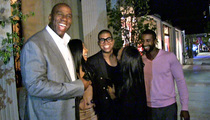 Magic Johnson -- It's EJ's Birthday ... You Guys Better Sing for Him! (VIDEO)