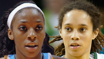 Glory Johnson -- Keeping the Baby ... 'Never a Question'
