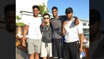Jahlil Okafor -- Runnin Thru L.A. With His Woes ... At Swanky Rooftop Party