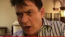 Charlie Sheen -- Paramedics Called for Extreme Food Poisoning