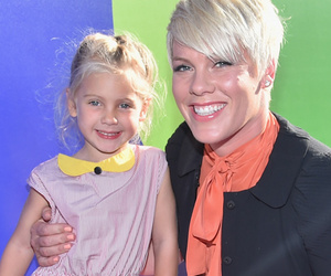 Pink Brings Daughter Willow to 'Inside Out' Premiere -- She's So Big Now!