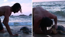 'The Island With Bear Grylls' -- Mouth To Mouth Saves Endangered Turtle