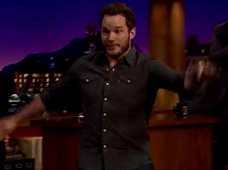 Funny Video: Chris Pratt Runs in Heels Like 'Jurassic World' Costar Bryce…