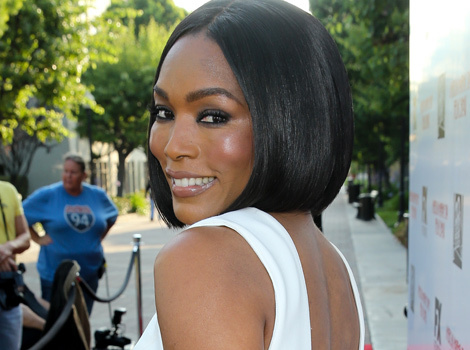 Angela Bassett, 56, Flaunts Her Bod In A Skin-Tight White Dress