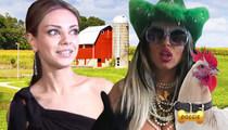 Mila Kunis -- Chicken Lawsuit Dropped ... It's In God's Hands Now!